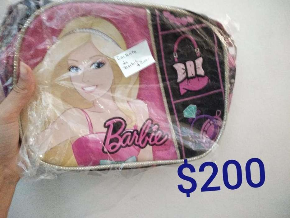 Cartera Barbie Tipo Morral