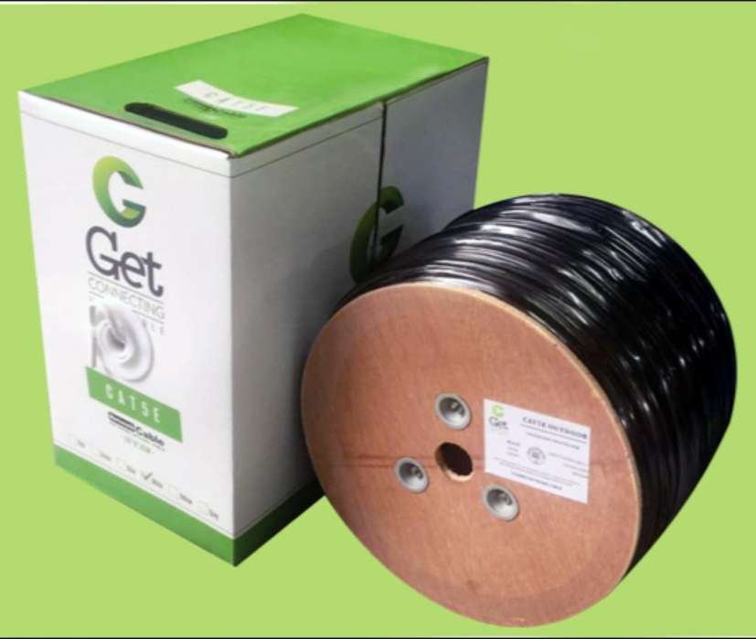 <strong>cable</strong> Utp Interior Y Exterior 305mts