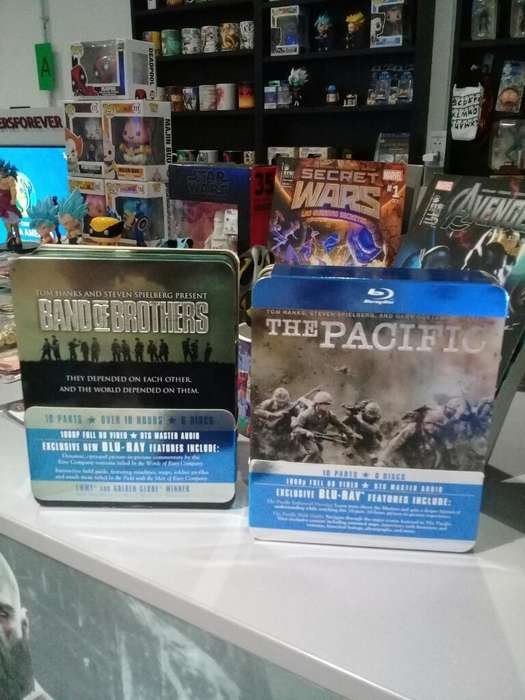 Blu-ray Band Of Brothers Y The Pacific