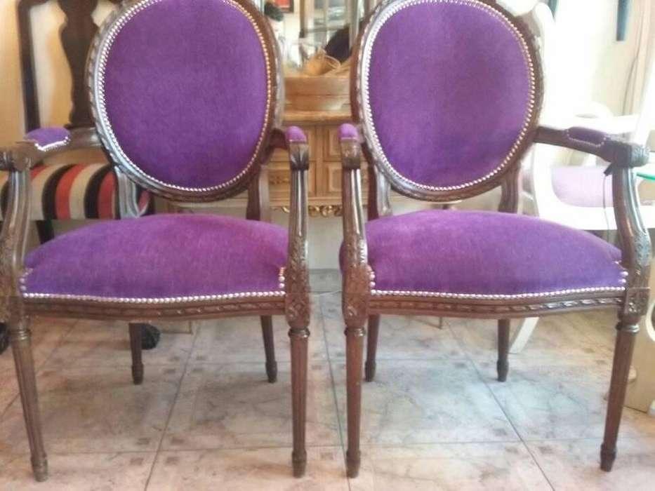 restauracion y retapizados en muebles de estilo