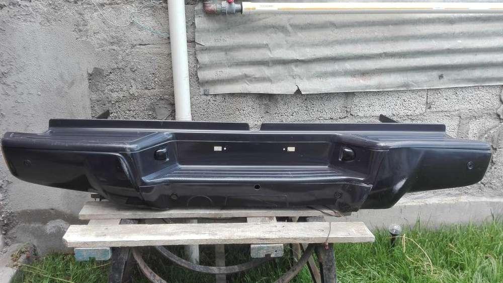 Guardachoques posterior Chevrolet Dmax 2019