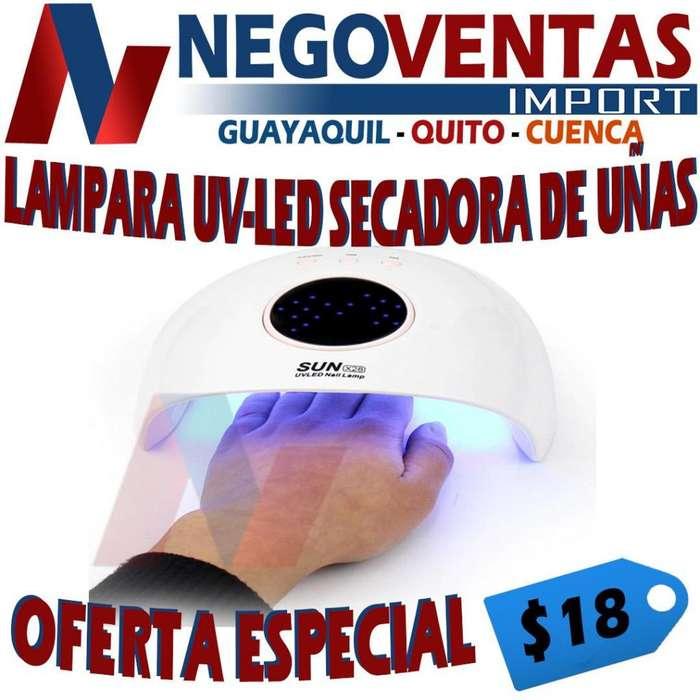 LÁMPARA UV- LED SECADORA DE UÑAS