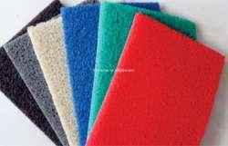 Felpudos de rizos de vinil Cushion Mat