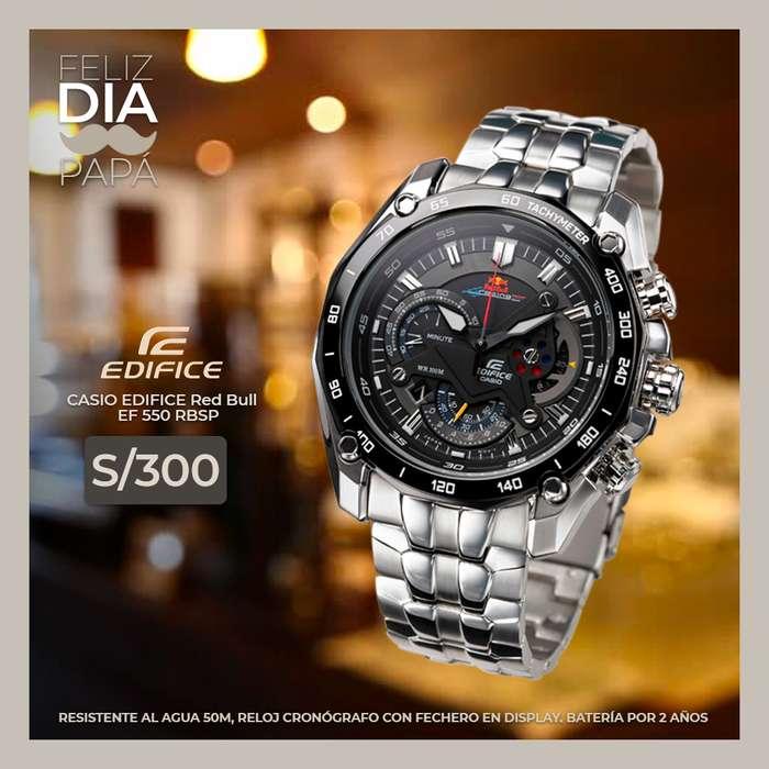 7407cf5b770a  strong reloj  strong  Casio Edifice Red Bull Oferta Dia Del Padre