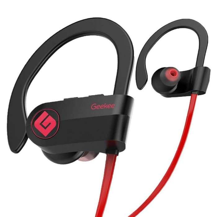 Auriculares Inalambricos Deportivos Geekee Bluetooth Hifi