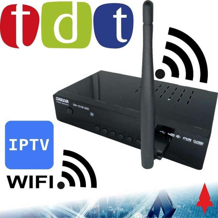 Decodificador Tdt Con Wifi Receptor Tv Digital T2 Antena nuevo 3138152836