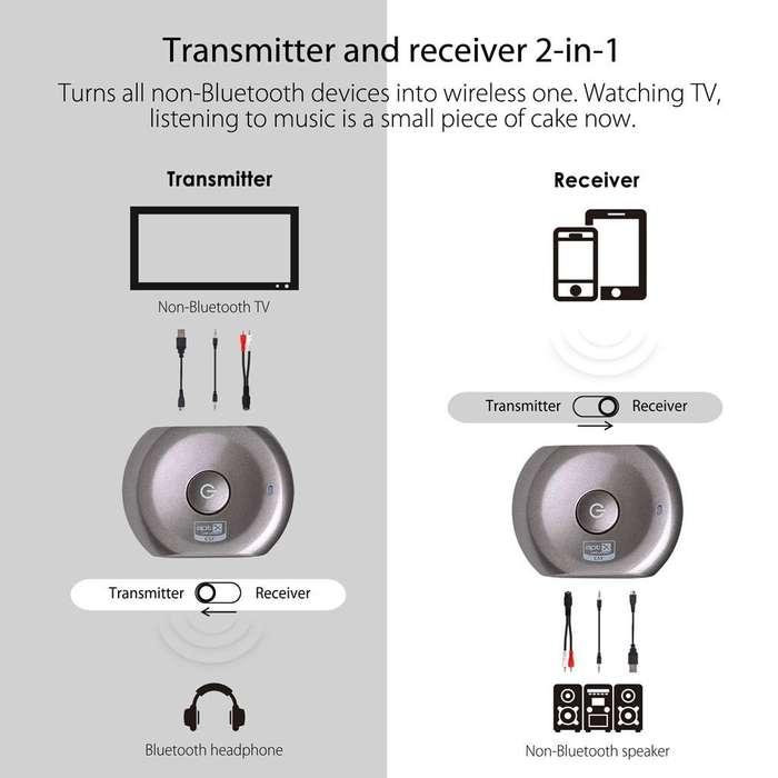 Receptor o trasmisor bluetooth. Avantree Saturn
