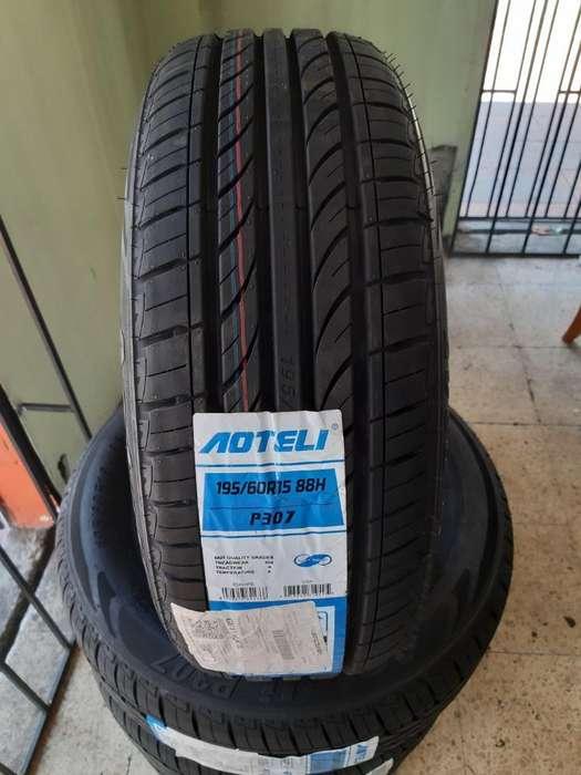 Llantas Aoteli P307 195.60r15 Promocion