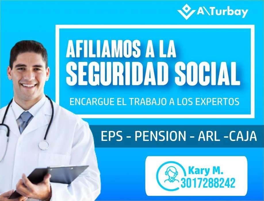 EXPERTOS EN AFILIACION A SEGURIDAD SOCIAL PREGUNTE AL 3003208895 HAGA SU AFILIACION A EPS, AFILIACION ARL, O CAJA