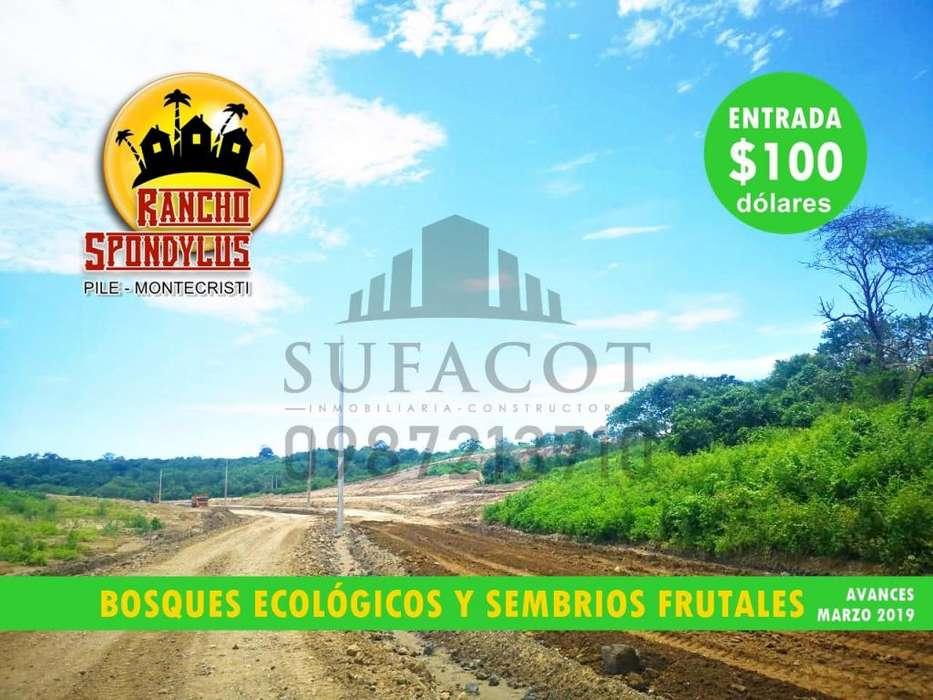 Quintas Vacacionales en Venta, Proyecto Rancho Spondylus, Tu Finca o Casa de Campo, Pile Montecristi, Manabi S1