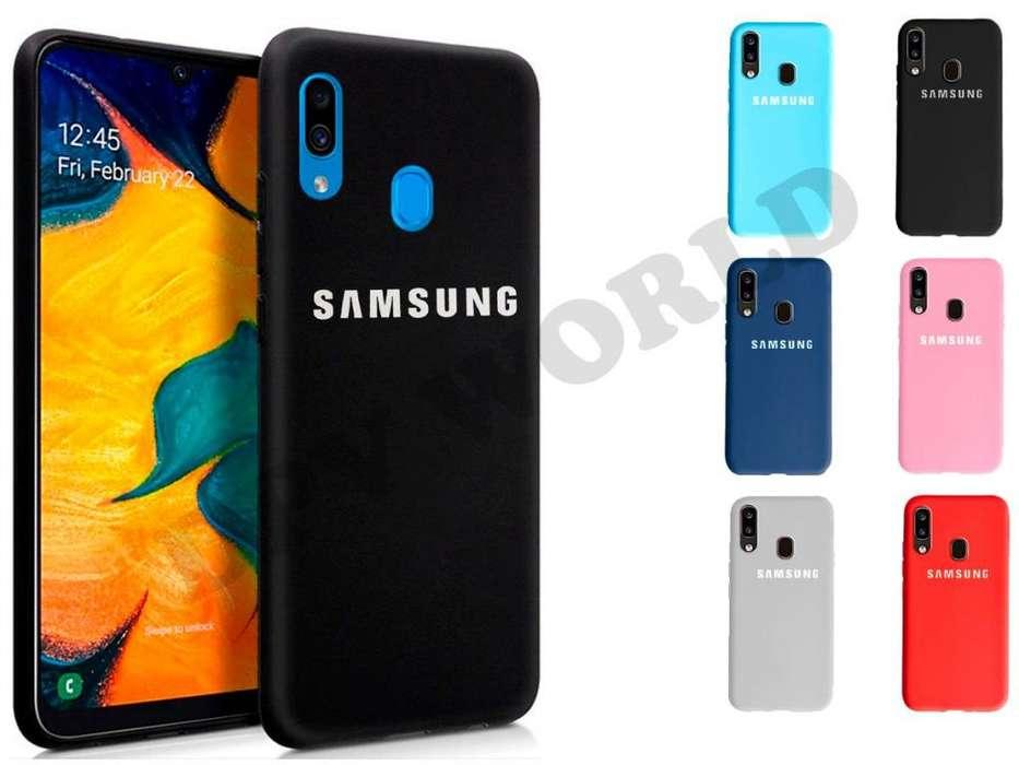 Estuche de silicona para Samsung Galaxy S10 S10 Plus A10 A20 A30 A50 M10