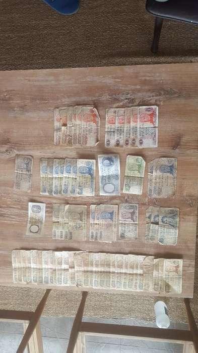 Lote de 70 Billetes Antiguos