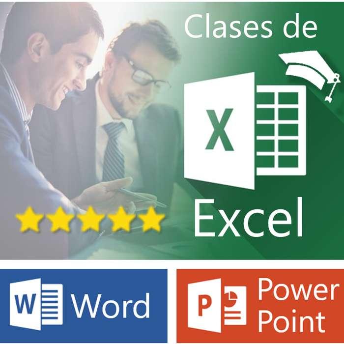 Clases Particulares de Excel a Domicilio en Capital Federal