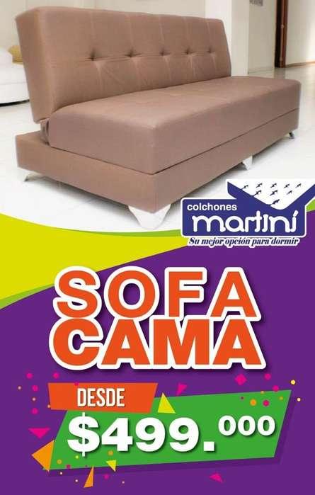 DIRECTAMENTE DE FABRICA SOFÁ CAMA DESDE 499.000 FABRICAMOS A TU GUSTO Y MEDIDA INFO WSP 3046617190
