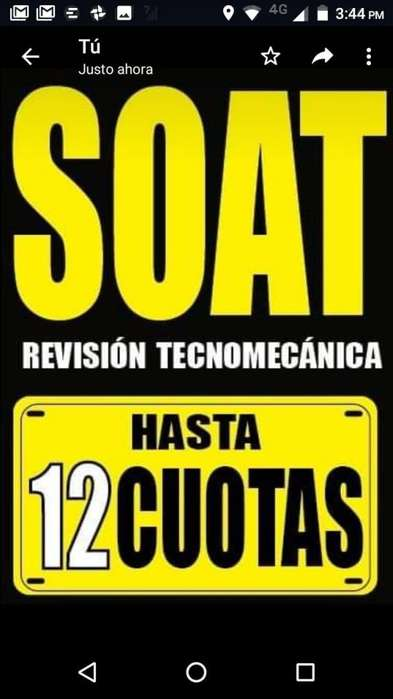 SOAT Y RTM