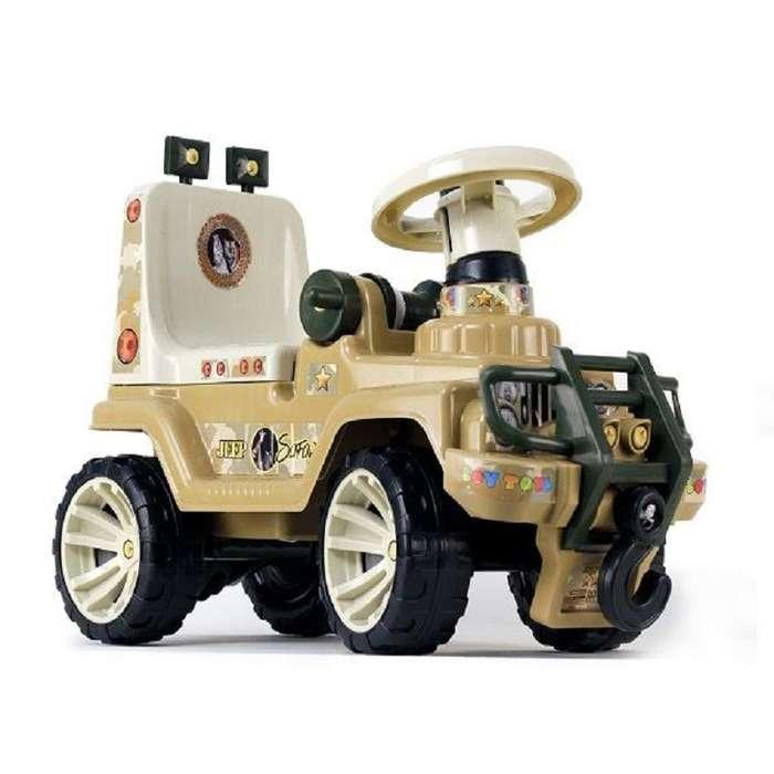 Carro Montable Juguete Jeep Safari Niño Paseador Infantil