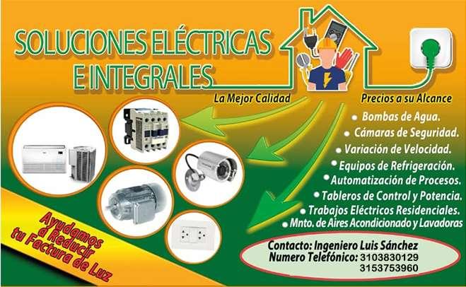 Soluciones Electricas CA . Cotizaciones y domicilios 24/7 , bucaramanga, florida, pie de cuesta , giron