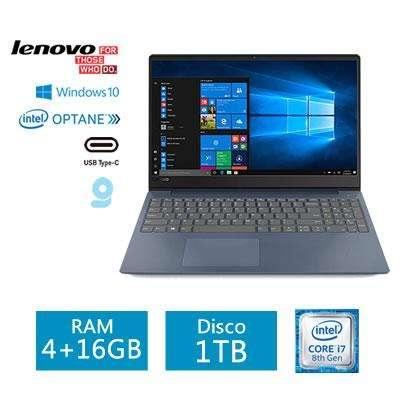Laptop Lenovo Ideapad 330s Core I7-8550u 20gb Ram (416 Intel Optane) 1tb 15.6