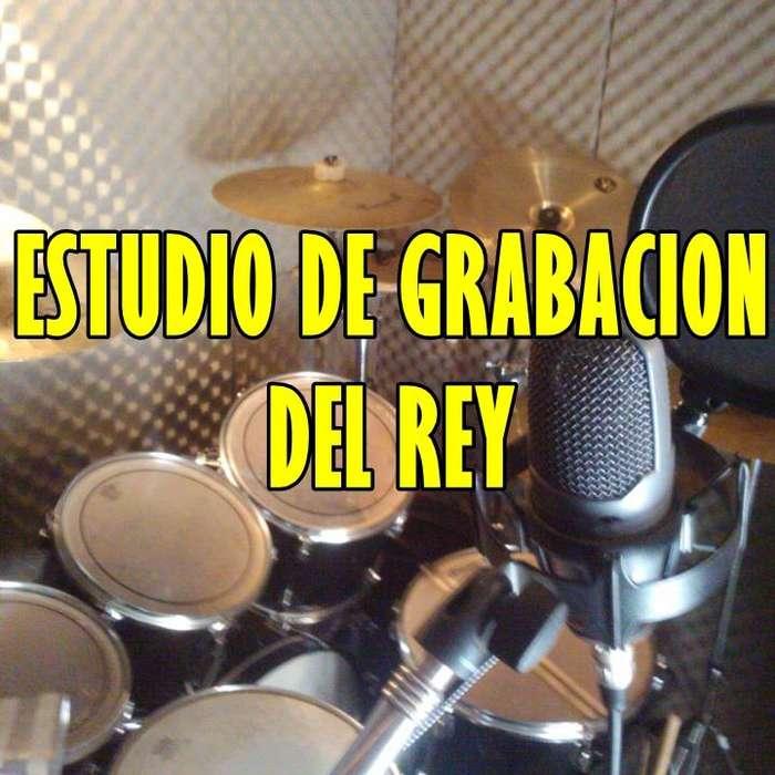ESTUDIO DE GRABACION DEL REY Y ARREGLOS MUSICALES