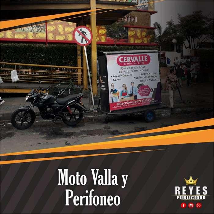 SERVICIO DE PERIFONEO Y MOTO VALLA PUBLICIDAD AUDITIVA Y VISUAL CALI BTL GRABACIONES DE AUDIO VOLANTEROS CUÑAS JINGLES