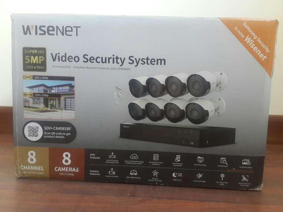 Sistema de Seguridad Wisenet