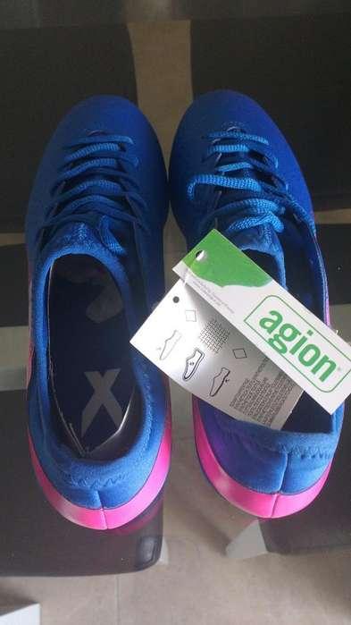 Botines Adidas Blue Blast X 16.3