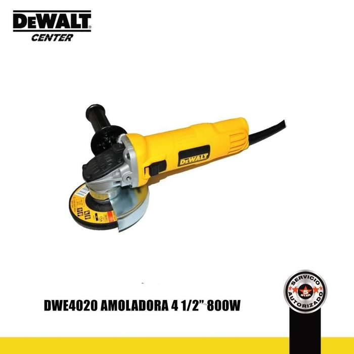 DWE4020 AMOLADORA 4 1/2 800W