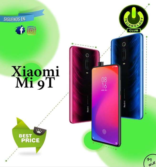 Xiaomi Mi 9T <strong>camara</strong> retractil Pop UP / Tienda física Centro de Trujillo / Celulares sellados Garantia 12 Meses