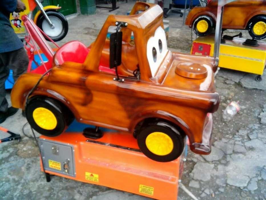 Juegos Mecánicos para Niños en Fibra Nvo