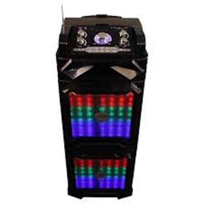 Parlante Torre Bluetooth Noga Hpw-693 Usb Microsd Karaoke