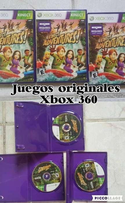 JUEGOS ORIGINALES XBOX 360 SOLO LOS DE LA IMAGEN