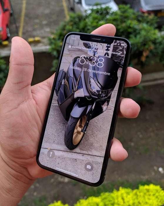 iPhone X Negro 64 Gb Perfecto