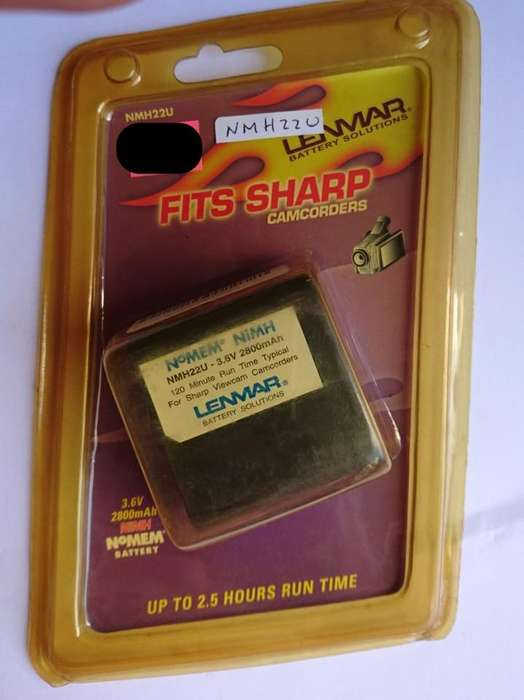 Bateria Fits Sharp Nmh22u
