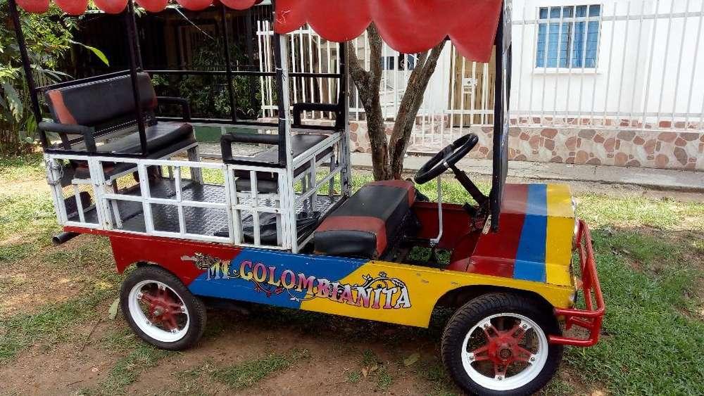 Chiva Pequeña para Recreación 110cc