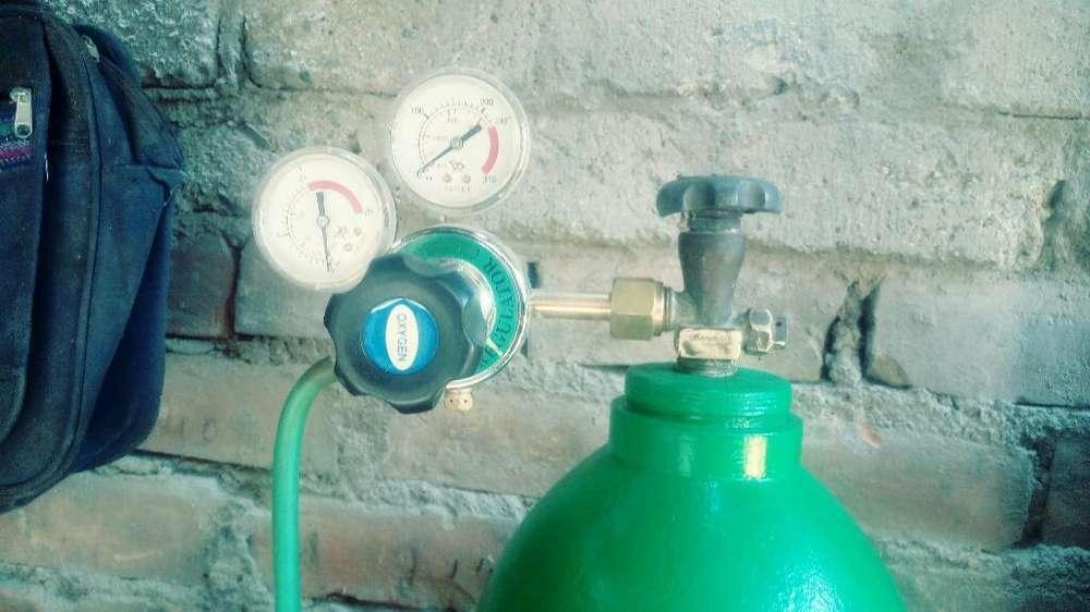 Autogena Carburo Oxigeno 6 Libras