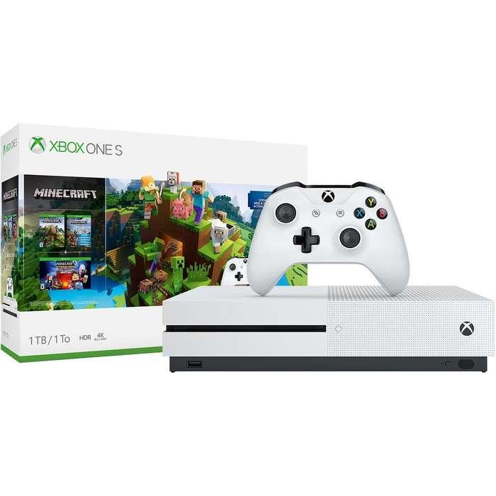 Acp - Consola De Juegos Xbox One S Minecraft 4k Hdr 1tb