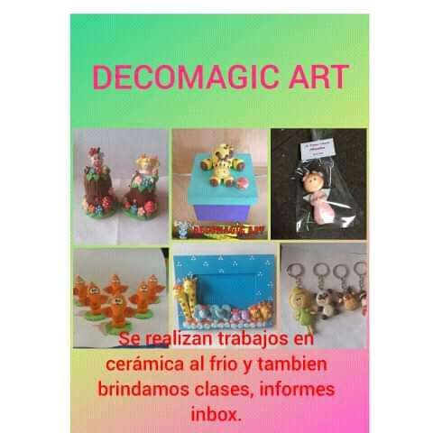Manualidades Decomagic Art