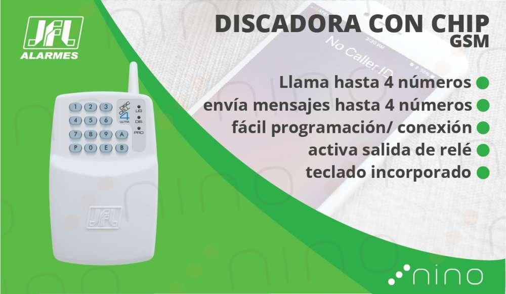 Discadora GSM para alarmas/cerco eléctricos