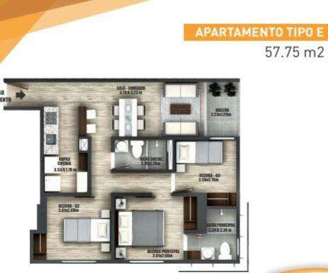 Apartamento en armenia/0013 - wasi_1036632