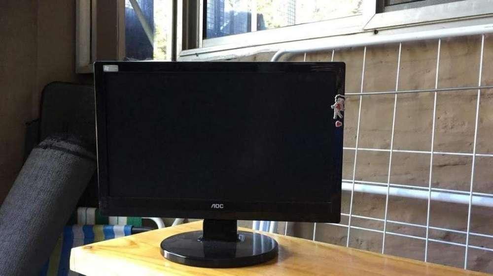 vendo monitor marca AOC 15
