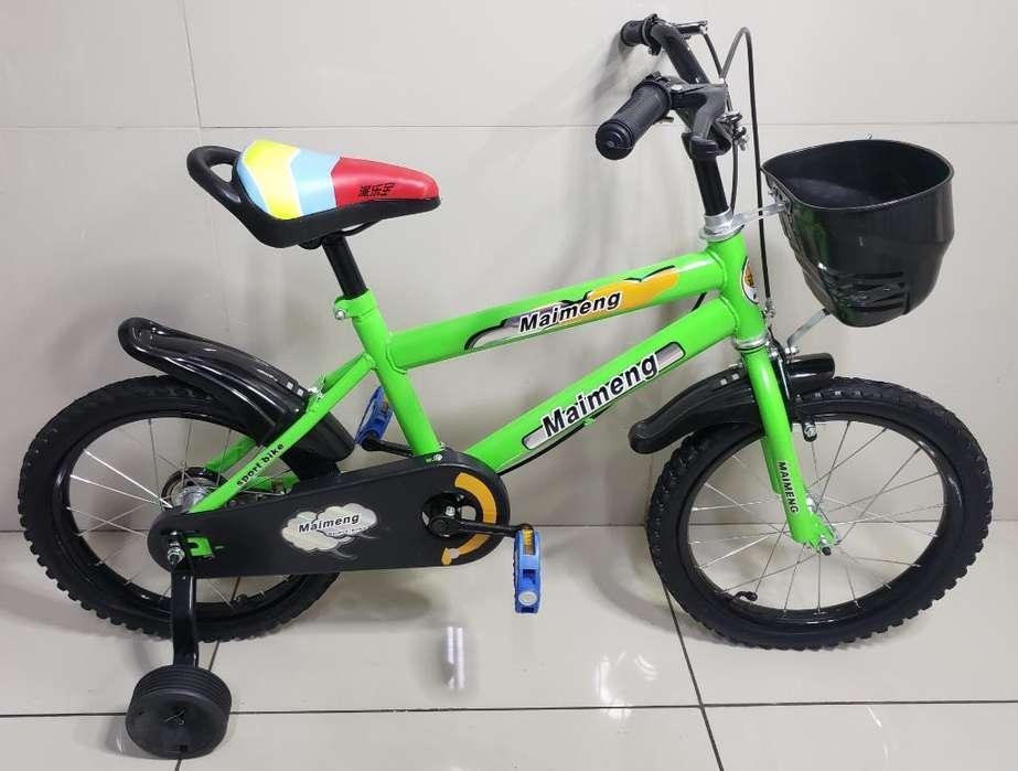 Bicicleta Aro 16 Nueva Importada