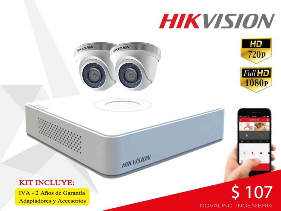 Camaras Seguridad Hikvision Hogar, Negocio