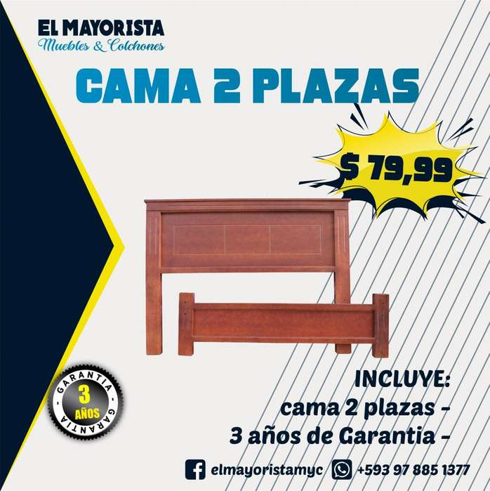 OFERTA Camas 2 Plazas A SOLO 79.99 Pidelo YA !!
