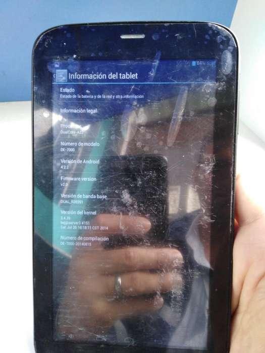 Tablet Teléfono Digital Electric E7000