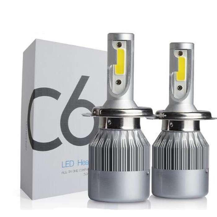 LUCES LED 30W H1 - H3 - H7 - 9005 - 9006 6000K 3800 LUMENENS
