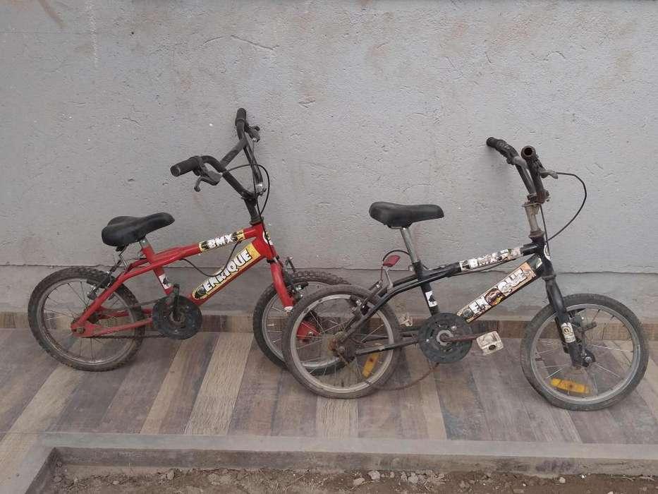 Bicicletas nios x 2