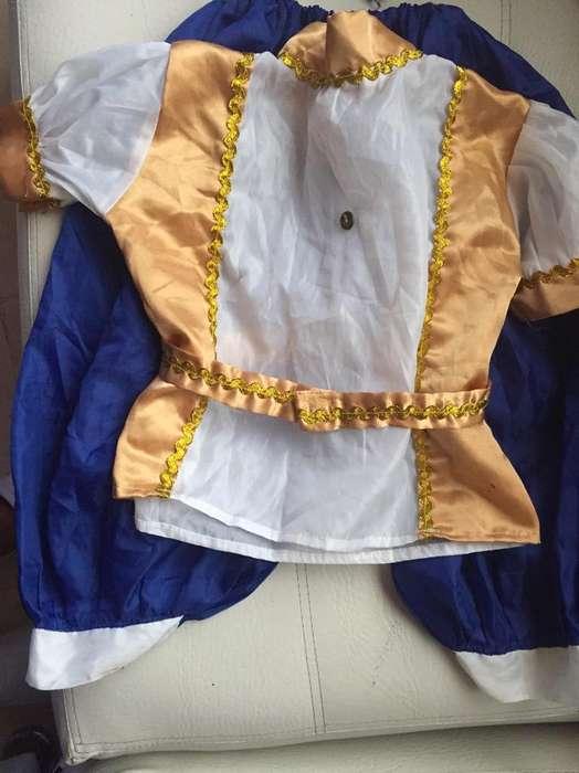 Disfraz Principito Talla 4