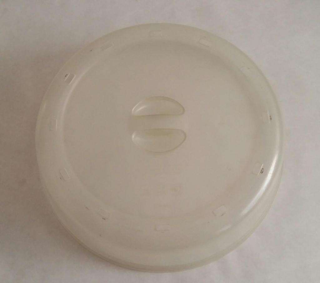 Tapa Protectora Microondas Con Aberturas Salida Vapor Avon