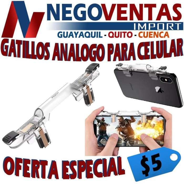GATILLOS ANÁLOGOS PARA CELULARES