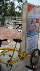 Bicicletas de publicidad bicis valla